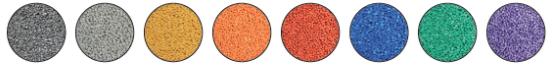 pe granule color image